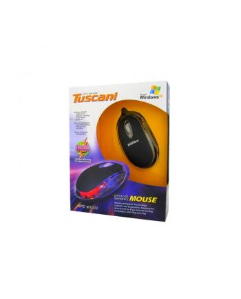 Mysz 4World Tuscani, USB,  kolorowe podświetlenie