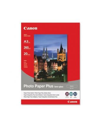 Papier Canon SG201 Photo Paper Plus Semi-glossy | 260g | A3 | 20ark