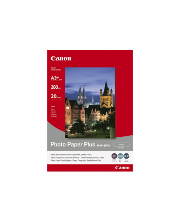 Papier Canon SG201 Photo Paper Plus Semi-glossy | 260g | A3  | 20ark