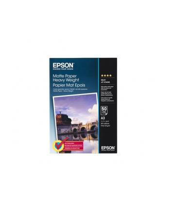 Papier Epson Epson Matte Heavyweight | 167g | A3 | 50ark
