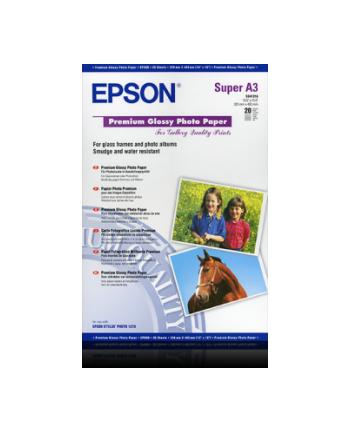 Papier Epson Premium Glossy Photo | 255g | A3  | 20ark
