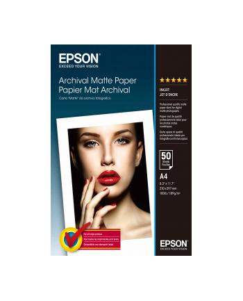 Papier Epson Archival Matte | 192g | A4 | 50ark