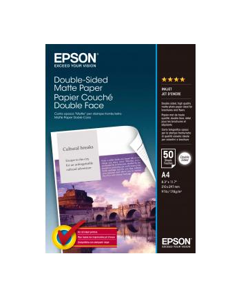 Papier Epson Double Sided Matte | 178g | A4 | 50ark