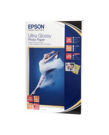 Papier Epson Ultra Glossy Photo | 300g | 10x15 | 20ark