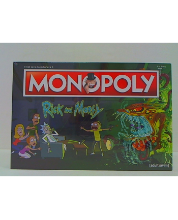 Monopoly Rick and Morty 035163 WINNING MOVES