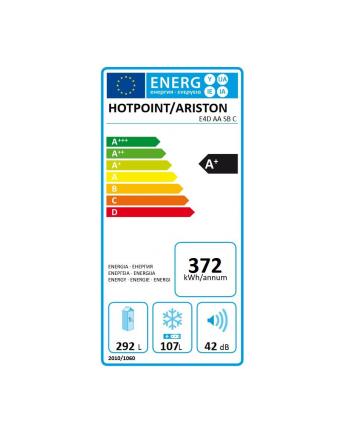 hotpoint-ariston Chłodziarko-zamrażarka E4DAASBC