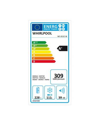 whirlpool Chłodziarko-zamrażarka W5 721E W