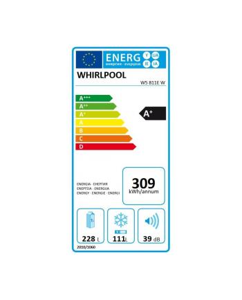 whirlpool Chłodziarko-zamrażarka W5 811E W