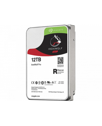 Seagate Ironwolf Pro 12 TB, HDD - SATA - 6 Gb / s, - 3.5