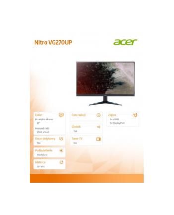 acer Monitor 27 Nitro VG270U bmiipx 75Hz