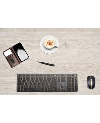 CHERRY DW 9000 SLIM Desktop Set - US Layout