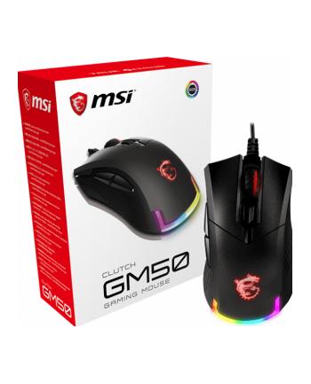 MSI GM50 Clutch, mouse(black)