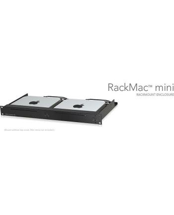 Sonnet 2018 MacRack mini 1U rack kit rack enclosure(black)