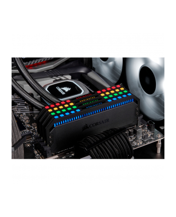 Corsair DDR4 32GB 3466 Quad Kit, RAM (black, CMT32GX4M4C3466C16, Dominator Platinum RGB)