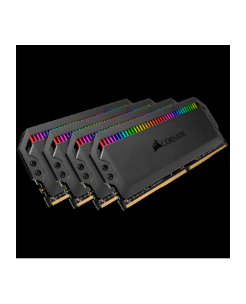 Corsair DDR4 64GB 3000-15 - Quad-Kit - Dominator Plat.RGB K4 COR