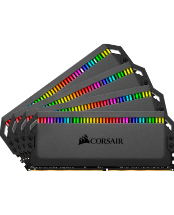 Corsair DDR4 64 GB 3600 Quad Kit, RAM (black, CMT64GX4M4K3600C18, Dominator Platinum RGB)