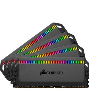 Corsair DDR4 64 GB 3600 Quad Kit, RAM(black, CMT64GX4M4K3600C18, Dominator Platinum RGB)