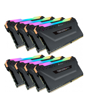 Corsair DDR4 64GB 4000-19 - Octo-Kit - Veng. RGB PRO black K8 COR