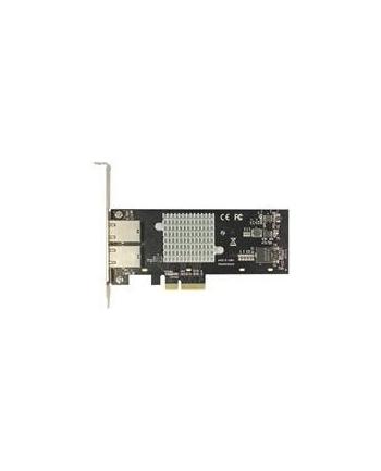 DeLOCK PCIe x4 10Gigabit LAN 2xRJ45 X550