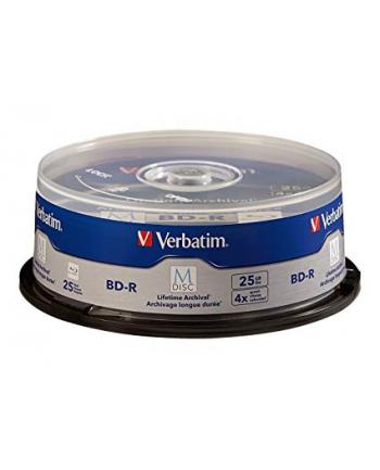 Verbatim M-DISC BD-R 4x 25 GB Blu-ray blanks(4 times, 25 pieces)