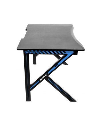 AKRACING Summit Gaming Desk AK-SUMMIT-BL, game table (. Black / blue, including XL mouse pad)
