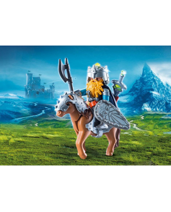 Playmobil Dwarf and pony with armor - 9345