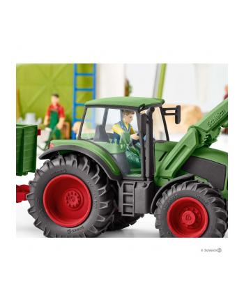 Schleich tractor with trailer - 42379