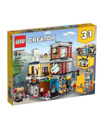 LEGO 31097 CREATOR Sklep zoologiczny i kawiarenka p.4