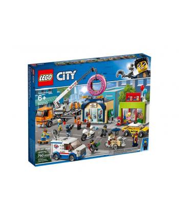 LEGO 60233 CITY Otwarcie sklepu z pączkami p4