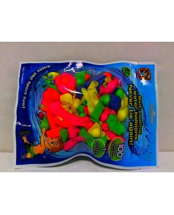 Balony wodne samozamykające 100szt.w worku HIPO