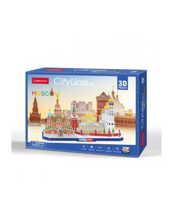 dante Puzzle 3D City Line Moscow 204el 20266