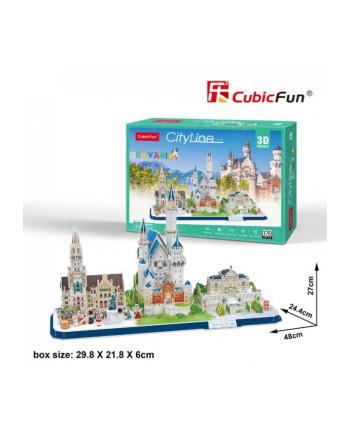 dante Puzzle 3D City Line Bavaria 178el 20267