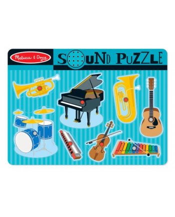melissa & doug MELISSA Puzzle dźwiękowe Instrumenty muzyczne 10732