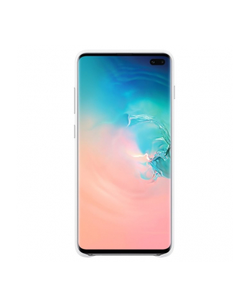 samsung Etui Leather Cover Galaxy S10+ białe