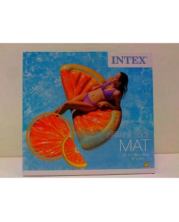 Materac wyspa Pomarańcza w pud.178x85cm 58763 INTEX