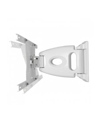 4world Uchwyt TV ścienny, 15-42 cale, udźwig 40 kg, biały