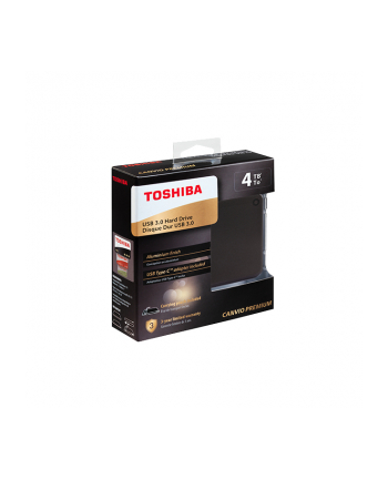 Toshiba Canvio Premium 4 TB hard drive (dark gray, USB 3.0)
