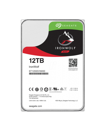 Seagate Ironwolf 12 TB, HDD (SATA 6 Gb / s, 3.5 '')