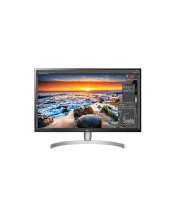 lg electronics LG 27UL850-W - 27 - LED (white / silver, HDMI, DisplayPort, AMD Free-Sync, HDR, pivot)