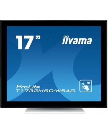 Iiyama T1732MSC-W5AG - 17 - LED (white, HDMI, VGA, DisplayPort, touchscreen)