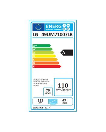 lg electronics LG 49UM71007LB - 49 - LED TV(black, UltraHD, Triple Tuner, HDR, SmartTV)