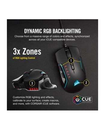 Corsair Glaive RGB Pro, mouse(black / aluminum)