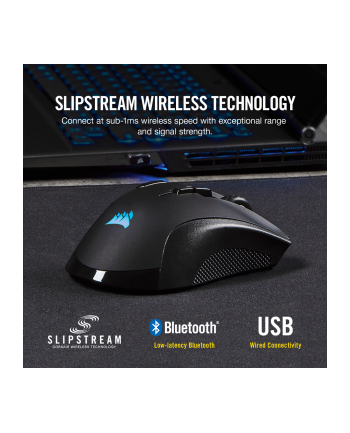 Corsair Ironclaw RGB Wireless Mouse(Black)