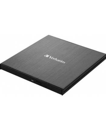 Verbatim External slimline Blu-ray Writer, Blu-ray burner(black, USB 3.1 Gen 1 (type-C))