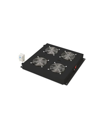Digitus roof ventilation unit for Unique Network Rack & Dynamic Basic network and server racks, fan module (black)