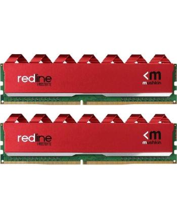 Mushkin DDR4-  16 GB - 3466- CL-16 - Dual  kit - Redline - red - MRA4U346GJJM8GX2