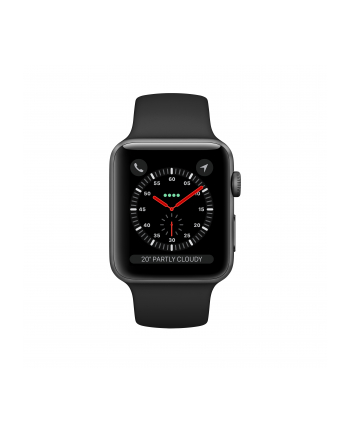 Apple Watch 3 42mm GPS+CELL grey/black - MTH22ZD/A