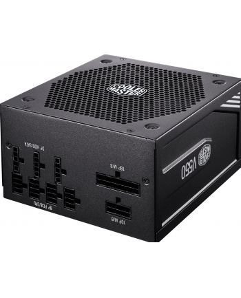 Cooler Master V550 Gold 550W, PC power supply (black, 2x PCIe, cable management)