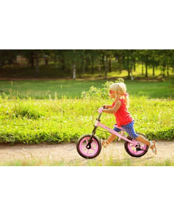 art Rowerek biegowy SAFE 12'' EVA hamulec czerwony HANKSKIDS