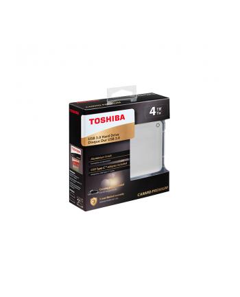 Toshiba Canvio Premium 4 TB hard drive(silver, USB 3.0)